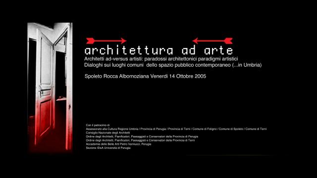 ARCHITTETURAadARTE