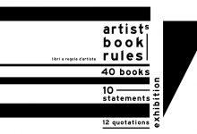 ARTIST'S BOOKS RULES