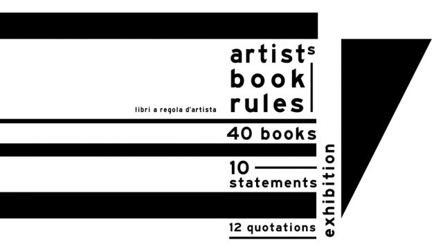 ARTIST'S BOOKS RULES