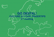 Go Digital! Culture at your fingertips - meeting - Kristianstad / Sweden, January 23rd-24th, 2017