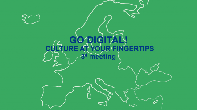 Go Digital! Culture at your fingertips – meeting – Rogaška Slatina / Slovenia, April 6th-7th, 2017