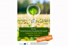 "Forum ""Social business incubation for youth"""