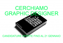 CERCHIAMO GRAPHIC DESIGNER